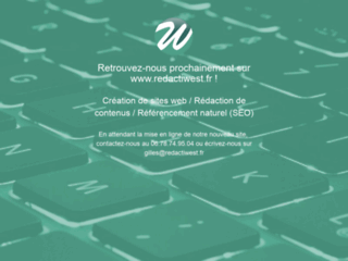 RedactiWest - R�dacteur web & r�f�renceur freelance
