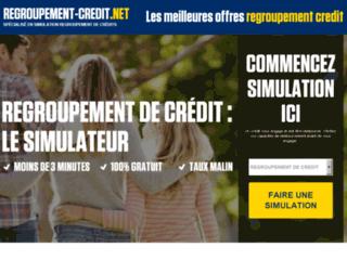 Détails : Regroupement-credit.net, comparateur des offres de rachat de crédits