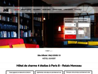 Hôtel Relais Monceau: Pour votre week end ou séjour à Paris