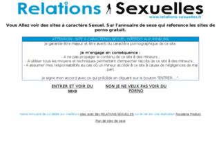 annuaire des relations sexuelles