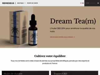 Détails : Remedeus, boutique de produits à base de chanvre