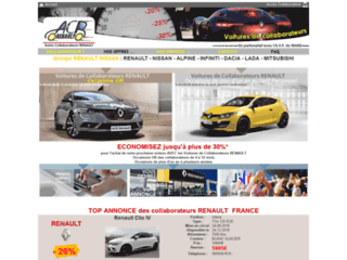 ACR - Auto Collaborateur Renault Nissan Dacia