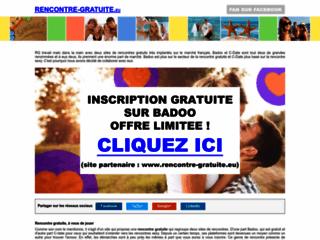 Aperçu du site Rencontre-gratuite.eu