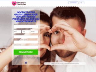 Faites la rencontre d'une personne malentendante ou sourde avec le site rencontremalentendant.com, site ayant vocation à mettre en relation les personnes.