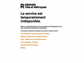 Ville de Rennes - Site officiel.