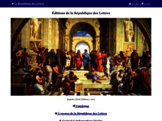 République Internationale des Lettres