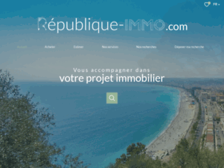 République Immobilier Nice