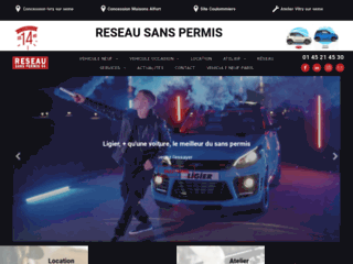 Vente de voitures sans permis à Ivry-sur-Seine 94