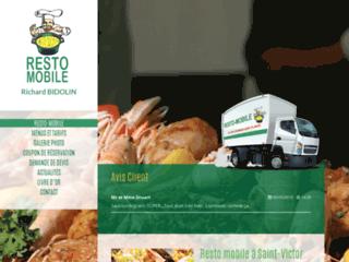 Resto Mobile Saint Victor, pour tous vos évènements et sur les marchés