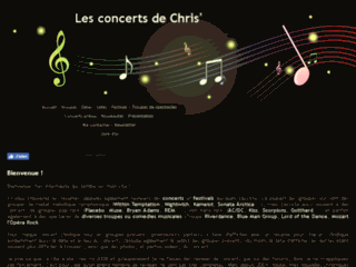 Les reviews de concerts de Chris