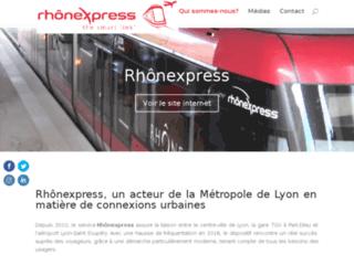 Détails : Rhônexpress
