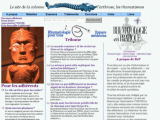 Rhumatologie pratique sur http://rhumatologie.free.fr