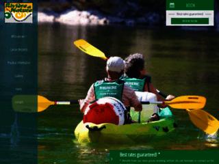 Descente des Gorges de l'Ardèche avec Rivière et Nature