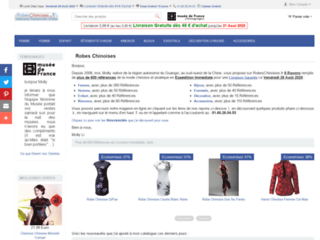 Détails : Boutique en ligne de vêtements chinois