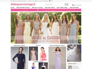 Robe pour mariage pas cher vente en ligne