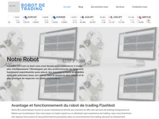 Détails : Robo trading Flashbot, la solution pour trader efficacement et obtenir des résultats satisfaisants