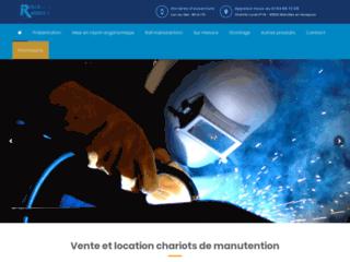 Détails : Rolls Rapides, fabricant de chariots industriels