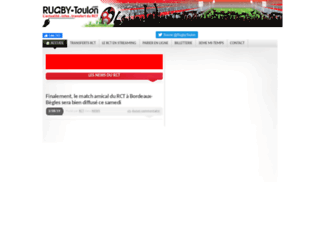 Le blog des supporters du RCT