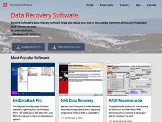 Info: Scheda e opinioni degli utenti : GetDataBack - Recupero dati HDD, recovery anche da partizioni inleggibili (RAW)