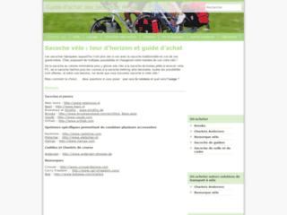 Capture du site http://www.sacoche-velo.net