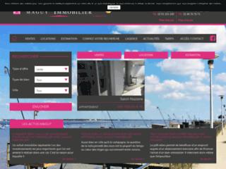 Maguy Immobilier : agence immobilière Saint-Nazaire et Saint-Marc-sur-Mer