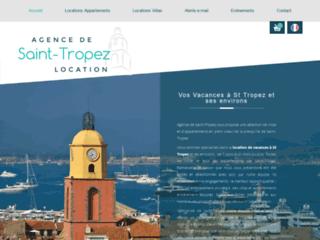 Capture du site http://www.saint-tropez-location.fr/