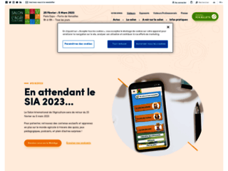 SALON INTERNATIONAL DE L\'AGRICULTURE
