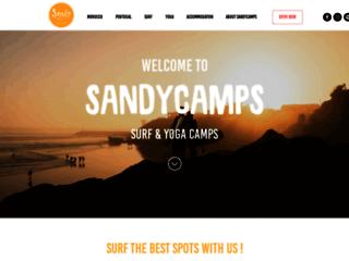 Sandycamps surf et yoga camp à Imsouane au Maroc