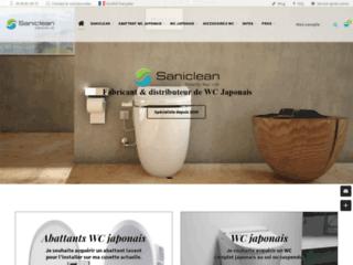Détails : WC japonais SANICLEAN