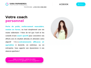 Sara Papandrea - Coach sportif à Luxembourg