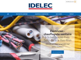 Idelec, entreprise d'électricité, sanitaire et chauffage dans le Bas-Rhin