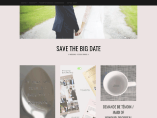 Save the big date