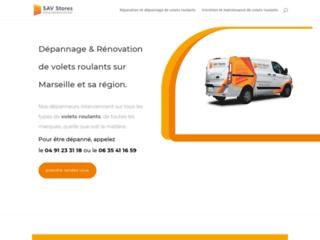 Installation et réparation de volets roulants et de portes de garage enroulables sur Marseille
