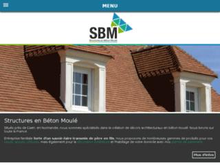 Détails : SBM SARL - matériaux de parement et de décoration en béton moulé à Caen