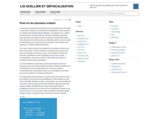 Loi Scellier et défiscalisation