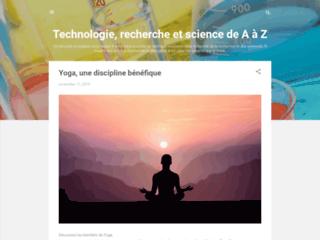 Technologie, recherche et science de A à Z