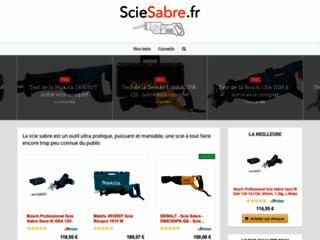 Site comparatif des scies sabre