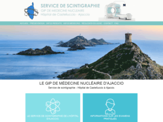Service de Scintigraphie de l'hôpital d'Ajaccio