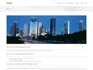 Aperçu du site SCPI De Rendement
