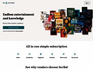 Scribd.com - Leggi e Scarica ebooks e pdf