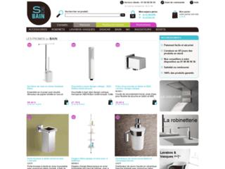 Capture du site http://www.sdebain.com