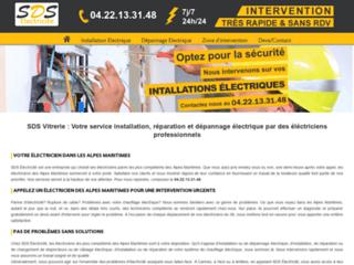 SDS Electricité, votre électricien dans les Alpes maritimes