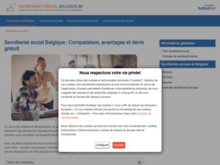 Détails : Le guide d'information du secrétariat social en Belgique