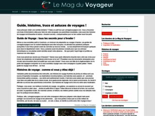 Aperçu du site Secret de Voyageur
