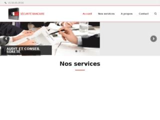 Capture du site http://www.securitebancaire.com