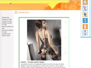 Aperçu du site Sekretgirl