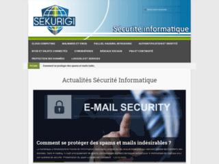 Actualité Blog Sécurité informatique : Sekurigi