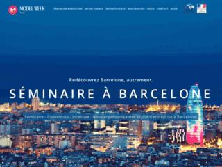 Séminaire Barcelone, agence réceptive