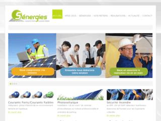 Capture du site http://www.senergies.fr/