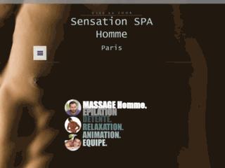 Détails : Sensation Spa, centre de bien-être pour homme à Paris